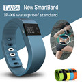 IP X6 Life Waterproof Smart band Fitness Tracker TW64 Bluetooth Smart Wristband Sport Pedometer Bracelet For