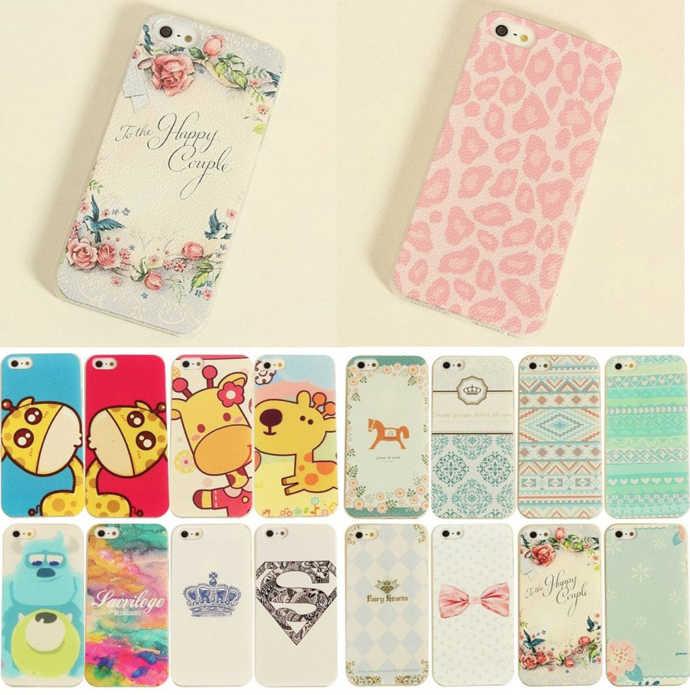 Hot sale!!!New Painted Various Pattern Phonen Scrub Back Case Cover For IPhone 4/4S Water/Dirt/Shock Proof(China (Mainland))