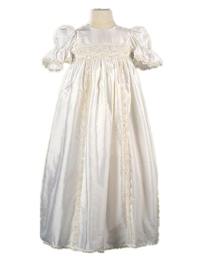 New Vintage Handmade Baptism Gown Baby Girl Christening ...