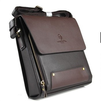 Man bag commercial male casual one shoulder cross body bag document men leather messenger bag men bag