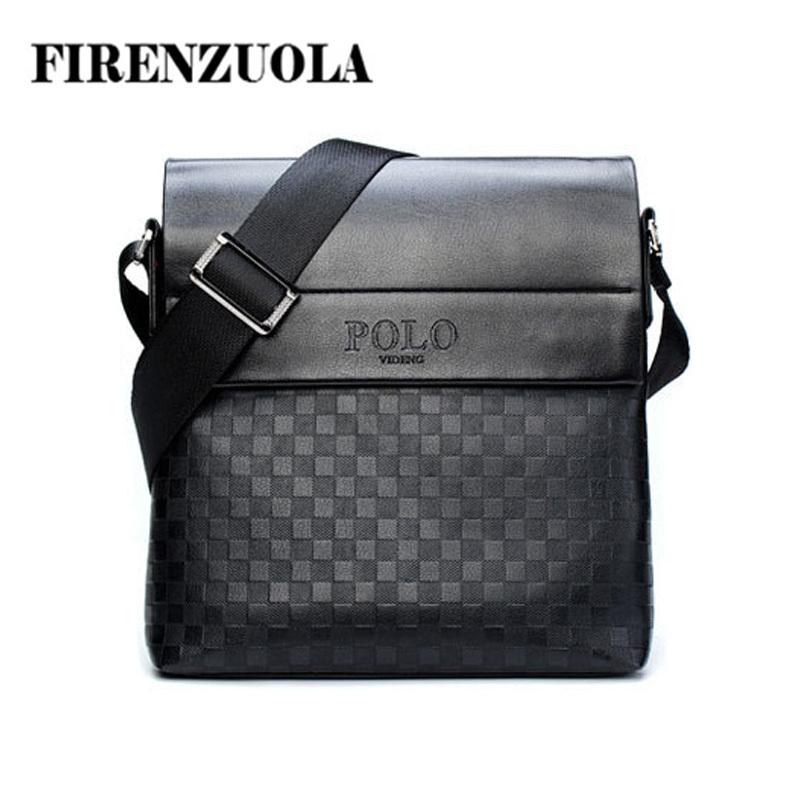 2015 New Arrival Men Messenger Bag, Plaid Casual Men's Briefcase Men's Leather Bags #670(China (Mainland))