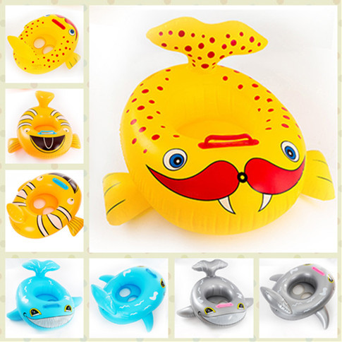4 Colors Baby Float Ring Lovely Newborn Life Buoy Baby Swimming Lap Sitting Ring Swimming Pool Baby Inflatable Swim Ring(China (Mainland))