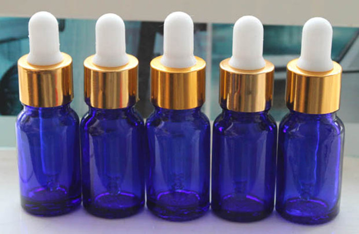 Free Shipping 50pcs/lot 5ml Cobalt Blue Glass Bottle Essential Oil Bottle with Glass Dropper <br><br>Aliexpress