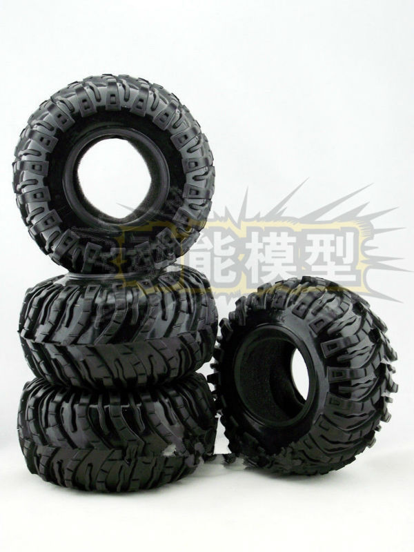 1/10 2.2 Soft Rubber Crawler Tire for WRAITH 90018 90020 90031 90045 RC4WD R1 Rock Buggy AXIAL AX10 Ridgecrest(China (Mainland))