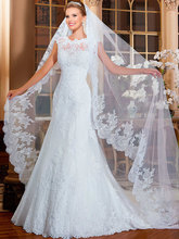 Buy Sexy Lace Wedding Dresses Mermaid Tulle Wedding Gowns Weeding Weding Bridal Bride Dresses Weddingdress robe de mariage for $169.20 in AliExpress store