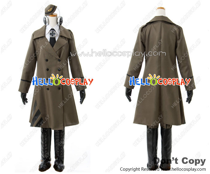 Axis Powers Hetalia APH Cosplay Germany Female Officer Costume Uniform H008Одежда и ак�е��уары<br><br><br>Aliexpress