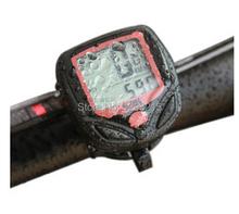 1 unids envío gratis multifunción Digital LCD para bicicleta cuentakilometros velocímetro Velometer eNW