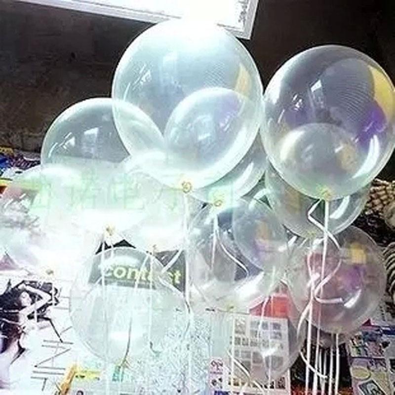 HAOCHU 20pcs 12 inch Clear Balloons Transparent Ballons Latex Baloon for aniversario Wedding Birthday Party Decoration Kid Toy(China (Mainland))
