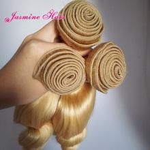 #613 Loose Wave Virgin Vietnamese Hair Weave 7A 3 pcs Loose Wave Human Hair Weave Vietnamese Blonde Human Hair Weft Bundles(China (Mainland))