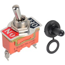 High quality!!!1pc New High Quality 15A 250V SPST 2 Terminal ON OFF Toggle Switch VE186 P