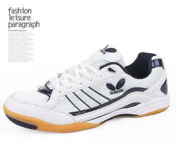 Wholesale BUTTERFLY WTS - 2 professional sports shoes couple shoes table tennis shoes
