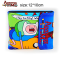 Anime Adventure Time with Finn and Jake PU Short Wallet Purse Colorful Printing