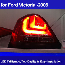 Car auto LED Rear lights for Ford Victoria 2000 LED Rear Brake Tail back Bar lights V2 Type Hot & New !(China (Mainland))