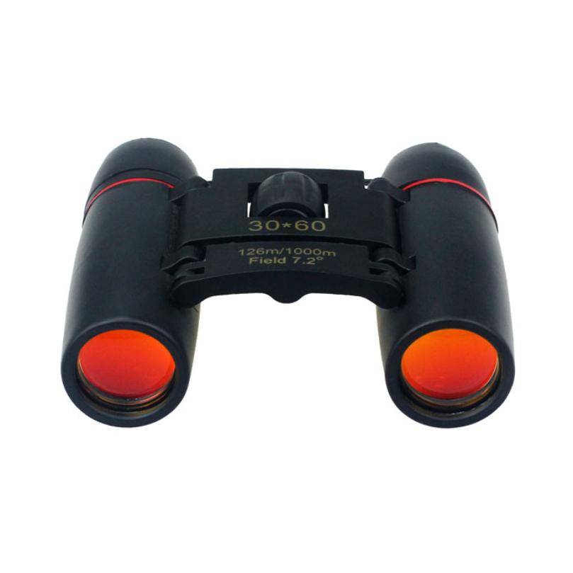 New Design 30x60 Zoom Mini Outdoor Binoculars Folding Telescopes Day Night Vision free shipping