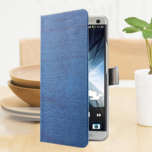 Stylish Wood Leather Flip Phone Cases Lenovo A916 Case Cover Card Slot Stand Function 916 - Shenzhen QIJUN Co., Ltd. Store store