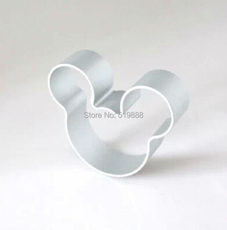 Гаджет  Mouse Head Shape Fondant Cake Mold DIY Sugarcraft Aluminum Biscuit  Mould Bakeware 3D Pastry Cookie Cutters NF27 None Дом и Сад