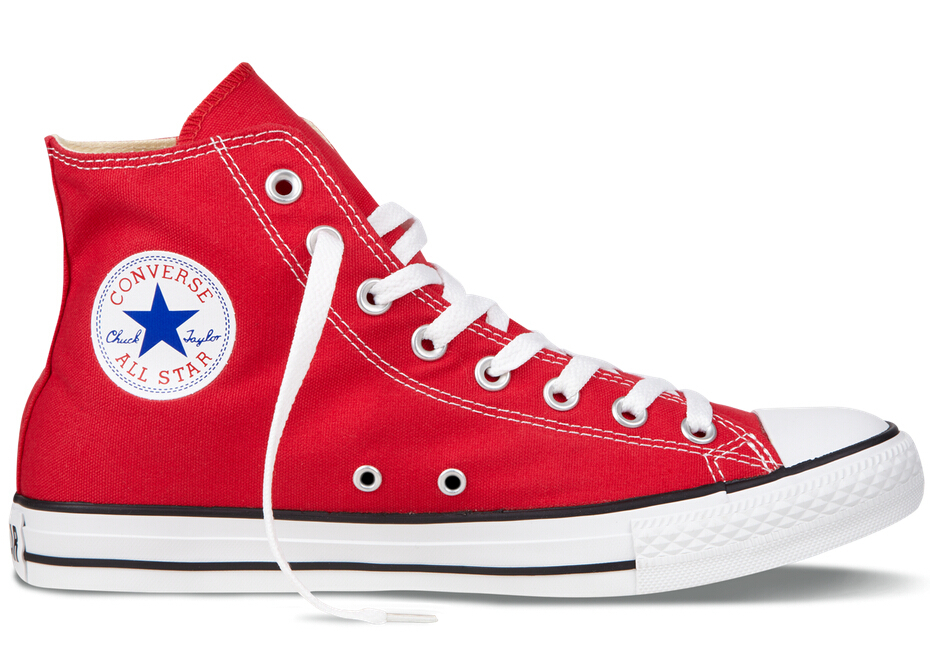 red all star shoes