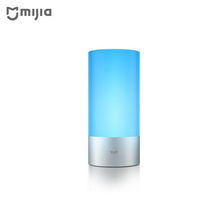 Buy Original Xiaomi Yeelight Smart Lights Indoor Bed Bedside Lamp 16 Million RGB Lights Touch Control Bluetooth Mijia APP for $86.17 in AliExpress store
