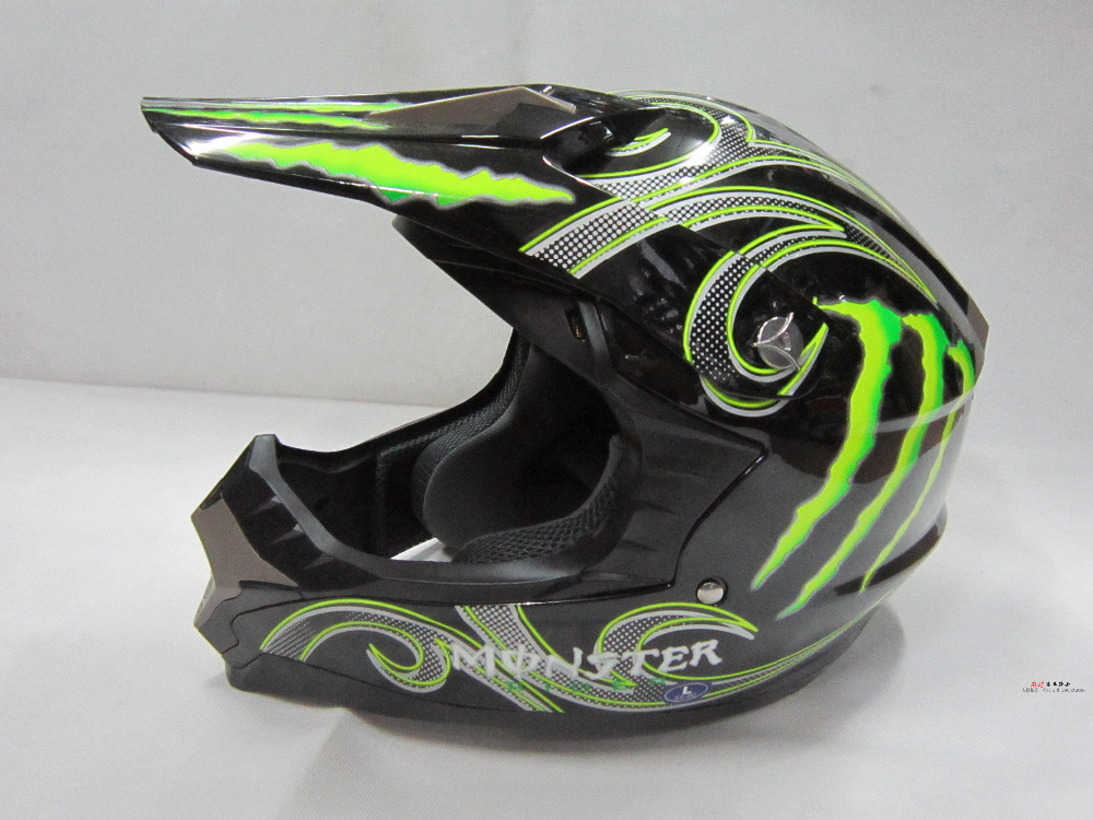 2015 new cross-country motorcycle helmet of the downhill cross-country motorcycle professional racing MONSTER helmet(China (Mainland))