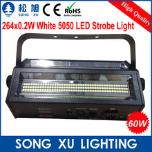 4pcs/lot Cheapest Free Shipping 264*0.2w 60W LED Double Head Strobe Flash Light Stage Equipment/SX-SL264A(China (Mainland))