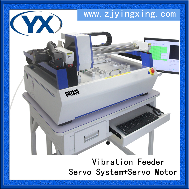 Advanced SMT Pick And Place SMT330 PCB Equipment Surface Mount Machine With Servo Motor And Guide Screw(China (Mainland))