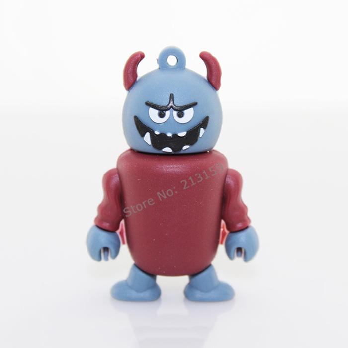 Retail Cartoon Angry Bull Demon King USB Flash Drives Thumb Pen Drive Memory Stick u Disk 2GB 4GB 8GB 16GB 32GB Free shipping(China (Mainland))