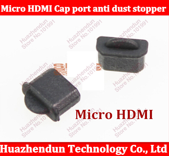 20pcs/lot Brand New Micro HDMI Cap port anti dust stopper Protector Plug cover Free shipping(China (Mainland))