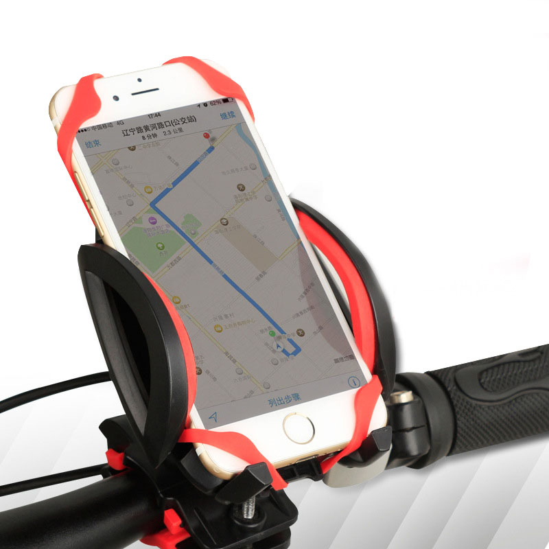 360 Degree Rotating Mountain Bike Bicycle Handlebar Bag Sport Cycling Riding Phone Container Mount Bracket for Iphone GPS(China (Mainland))