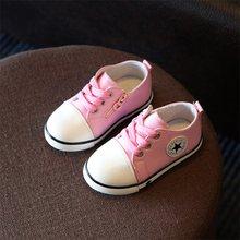 2019 חדש אביב סתיו ילדי נעלי בנים לנשימה בד נעלי 1-3 שנים ישן בנות לא מסריח רגל ילדי תינוק נעלי ספורט(China)