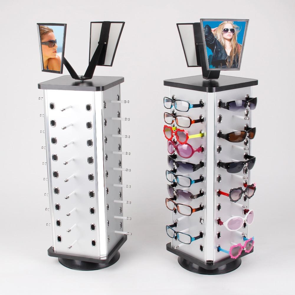 1pcs rotating metal sunglass display stand holder rack