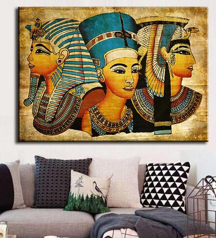 Online kopen wholesale egypte muur schilderijen uit china egypte muur schilderijen groothandel - Modulaire muur ...
