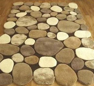 50cm*80cm rug bathroom bedroom living room japanese style carpet handmade mats - Your Home Tailor store
