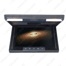 Black 10.4 Inch Roof Mounted TFT LCD Monitor 2-Way Video Input Flip Down Car Monitor #FD-1283(China (Mainland))
