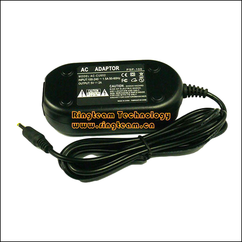 Free Shippipng New AC Power Adapter PSP-100 PSP100 for Sony PSP Portable Playstation with power cord(China (Mainland))