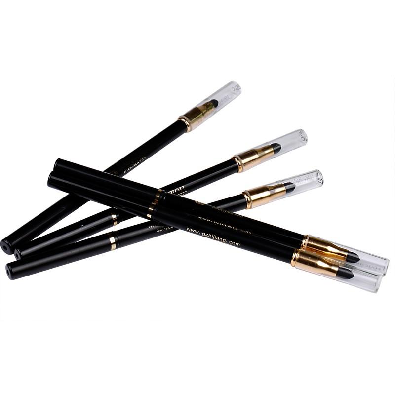 PRO 14 Colors Eyeshadow & Eyeliner Pen Wih Brush Highlights Natural Long Lasting Waterproof Eyeliner Pencil For Ladies