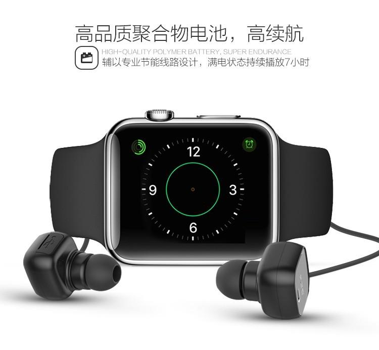 ถูก ต้นฉบับQCY QY12บลูทูธ4.1หูฟังไร้สายสมาร์ทหูฟังไมโครโฟนกีฬาE Arbudsสำหรับxiaomi iphoneซัมซุงหูฟัง