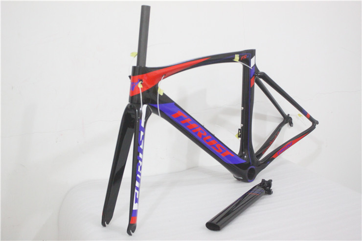 2016 New arriva carbon frame road bicycle Di2 And Mechanical Both carbon frameset glossy/matte carbon road frame(China (Mainland))