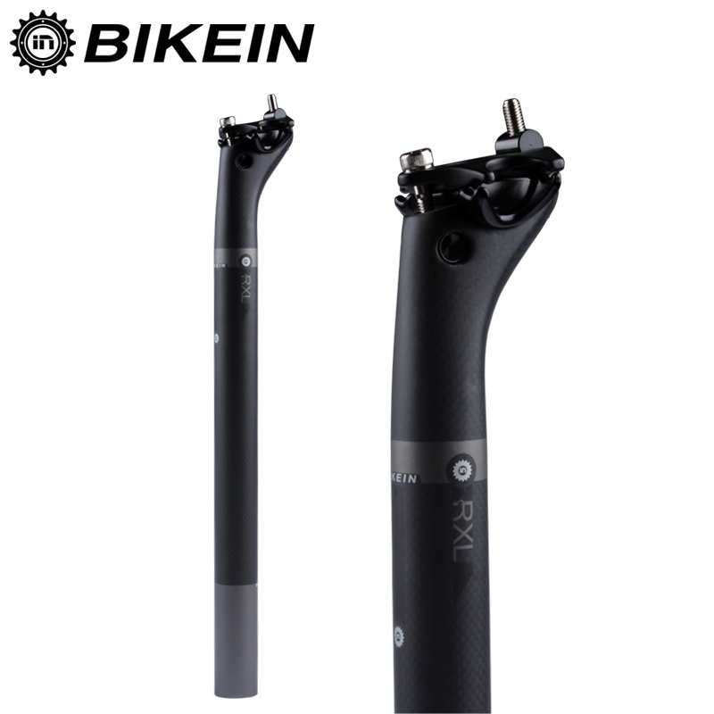 BIKEIN - Super Light Backward 25 Degrees Full 3k Carbon Mountain/Road Bike Seatpost 27.2/30.8/31.6*400mm Bicycle Seat Post 220g(China (Mainland))