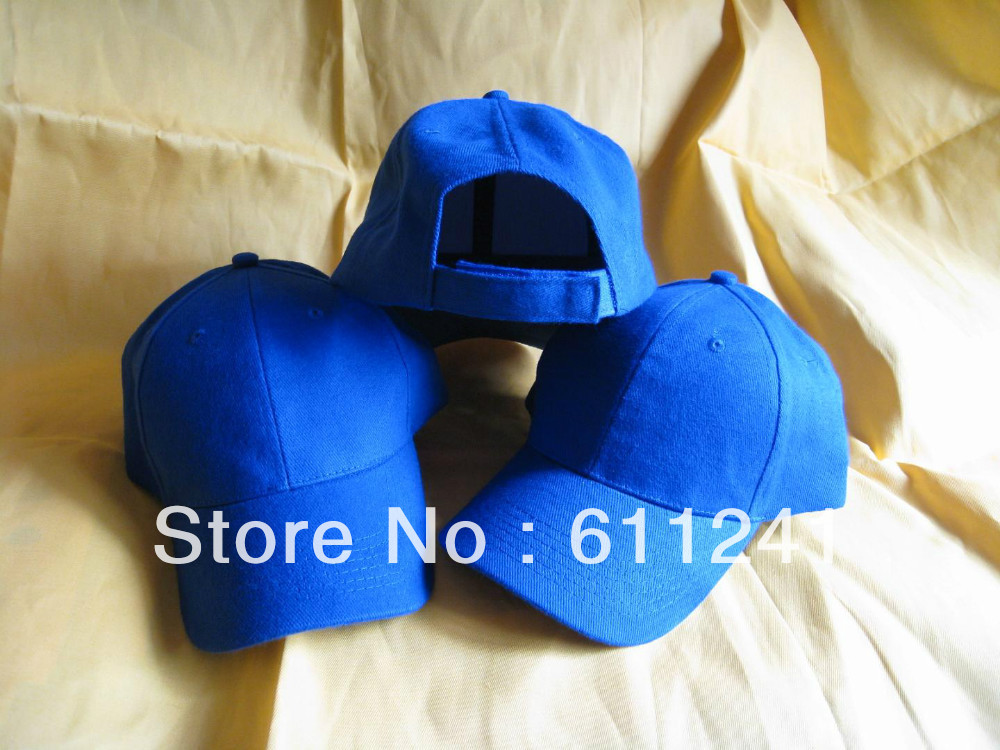 Promotional cap/Advetising cap with 100% cotton fabric Custom baseball cap min order 50pcs with own logo in embroidered(China (Mainland))
