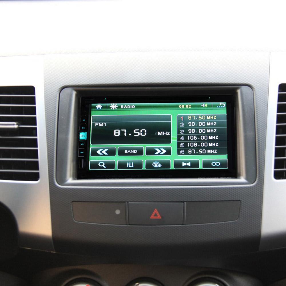 7 Inch TFT 2 Din Car DVD Player MP5/MP4 USB/SD Handsfree Bluetooth FM/AM Radio Car Audio for BMW/Mazda/Opel/VW/Honda/Skoda/Golf(China (Mainland))