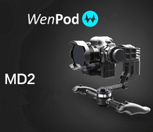 Pre-sale WenPod Official MD2 64 Bits GIMBAL Intelligent Auto Calibration 3-Axis DSLR gyropode camera fpv photography