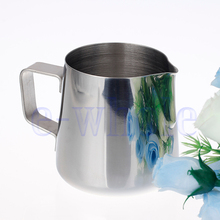 250ml 8.5oz Stainless Steel Coffee Frothing Pitcher Milk Latte Jug Cup HG1116(China (Mainland))