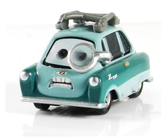 Гаджет  Pixar Cars Professor Z With Glasses Metal Diecast Toy Car 1:55 Loose Brand New In Stock & Free Shipping None Игрушки и Хобби