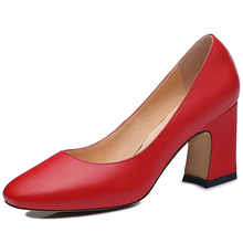 Centenary New Fashion Red Wine Women Sexy Pumps Bridesmaids Pumps 2016 Thick Med Heels Wedding Party Bridal Shoes Dress Shoes(China (Mainland))