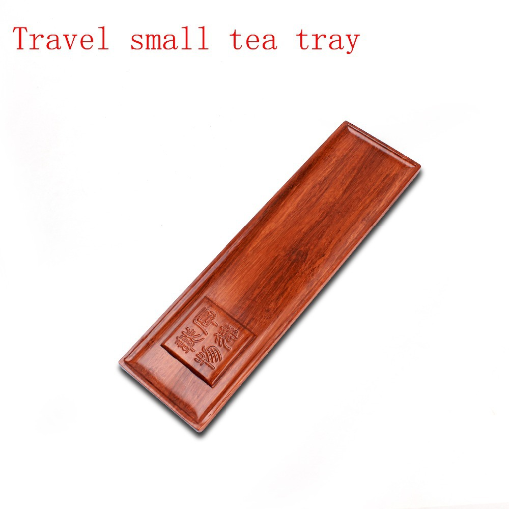 Kung Fu Tea Set Coffee Plate 35 7 10 2 4cm Tea Drinkware Wooden Tea Tray