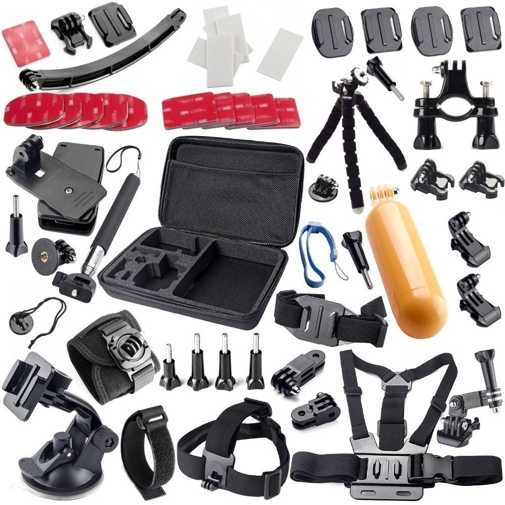 Gopro Accessories kit Floating Handle Grip Tripod Mount Adapter for gopro hero 4 3+ 2 sjcam SJ4000 SJ5000 xiaomi yi Camera GS33<br><br>Aliexpress