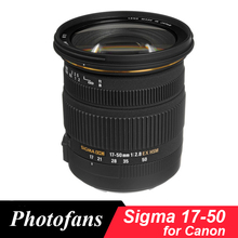 Buy Sigma 17-50 Sigma 17-50mm f/2.8 EX DC OS HSM Zoom Lens Canon 1300D 700D 750D 760D 70D 60D 80D 7D T6 T6s T5 T5i for $357.00 in AliExpress store