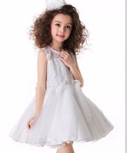 Hot New Infant Children Girl Tutu Dress vestidos Kids Cute Lace Flower Summer Party Princess Dresses baby girl Brand Clothes