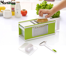 Hortiking Multifunctional Vegetable Shredder Plastic And Stainless Steel Slicer Machine Kitchen Accessories Cooking Tools H-CA12