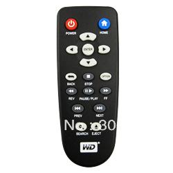 100% New Remote Control For Western Digital WD TV Live Plus HD WDBABX0000NBK NESN Media Player WDTV001RNN